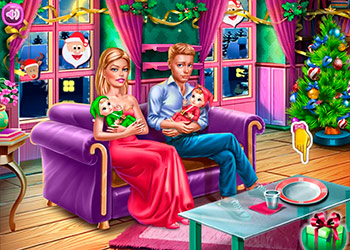 Play Ellie Family Christmas online - Screenshot 2