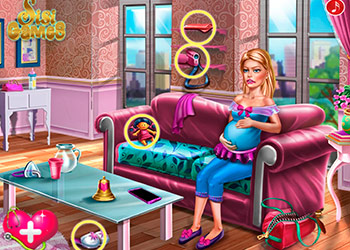 Play Ellie Twins Birth online - Screenshot 1
