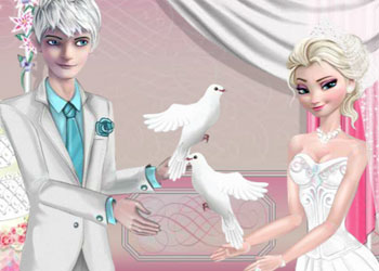 Play Elsa and Jack Wedding Night online - Screenshot 2