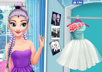 Play Elsa And Rapunzel Princess Rivalry online - Screenshot 2