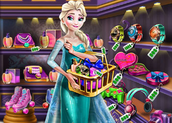 Play Elsa Gift Shopping online - Screenshot 1