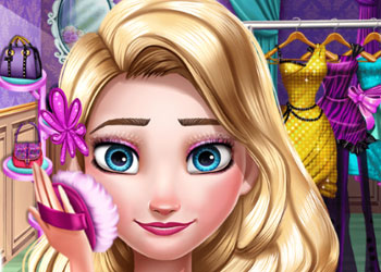 Play Elsa Prom Makeup online - Screenshot 2