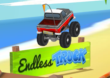 Play Endless Truck online - Screenshot 1