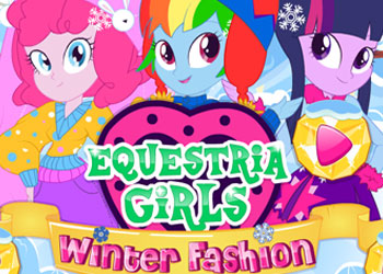 Play Equestria Girls Winter Fashion 2 online - Screenshot 1
