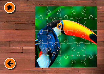 Play Exotic Animals Jigsaw online - Screenshot 1