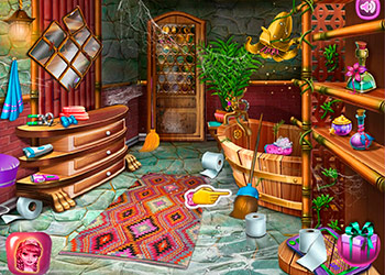 Play Fairy House Cleaning online - Screenshot 1