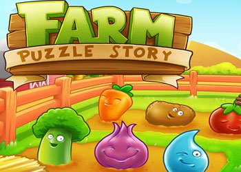 Play Farm Puzzle Story online - Screenshot 1