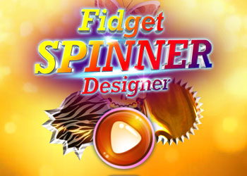 Play Fidget Spinner Designer online - Screenshot 1