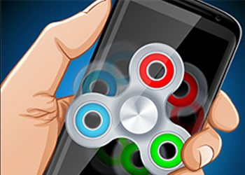 Play Fidget Spinner Extreme online - Screenshot 1