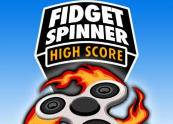 Play Fidget Spinner High Score online - Screenshot 1