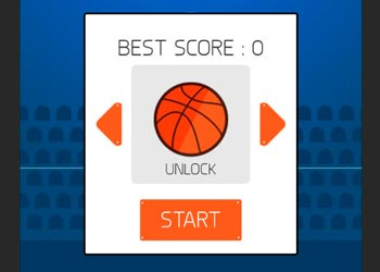 Play Finger basketball online - Screenshot 1
