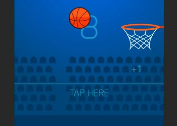 Play Finger basketball online - Screenshot 2