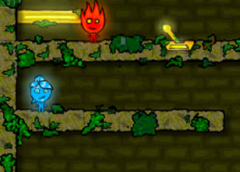 Play Fireboy and Watergirl 3: In The Forest Temple online - Screenshot 2