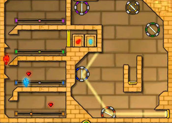Play Fireboy and Watergirl: The Light Temple online - Screenshot 1