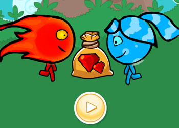 Play Fireboy and Watergirl Treasure Hunt online - Screenshot 1