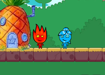 Play Fireboy and Watergirl Treasure Hunt online - Screenshot 2