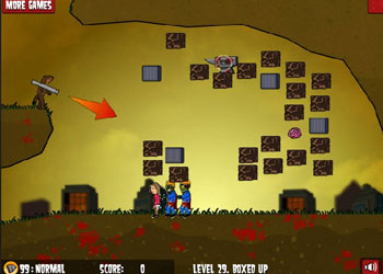 Play Flaming Zombooka 2 online - Screenshot 1
