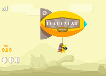 Play Flappy Cat online - Screenshot 1