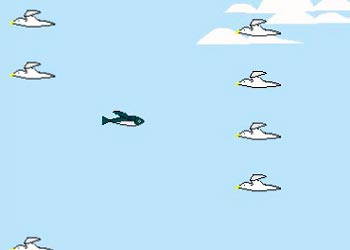 Play Flappy Flying Fish online - Screenshot 2