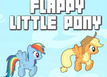 Play Flappy Little Pony online - Screenshot 1