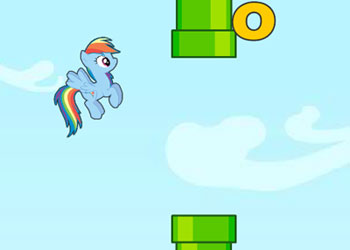 Play Flappy Little Pony online - Screenshot 2