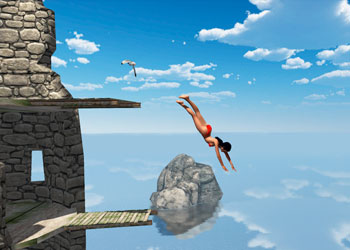 Play Flip Diving game online - Screenshot 2