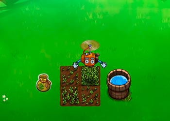 Play Flying farm online - Screenshot 1