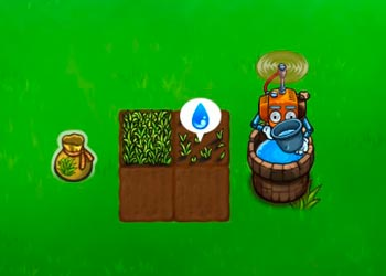 Play Flying farm online - Screenshot 2