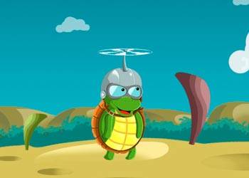 Play Flying Turtle online - Screenshot 1