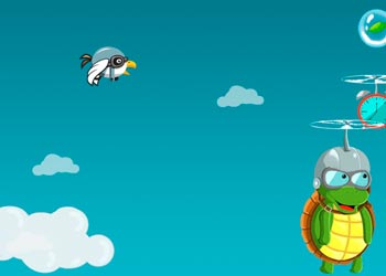 Play Flying Turtle online - Screenshot 2