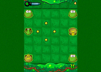 Play Frog Rush online - Screenshot 1