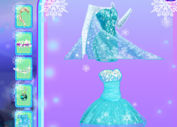 Play Frozen Makeup online - Screenshot 2