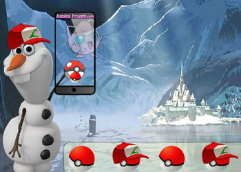 Play Frozen Pokemon Go online - Screenshot 2
