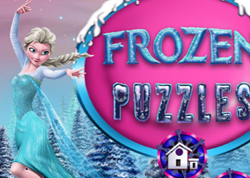 Play Frozen Puzzles online - Screenshot 1