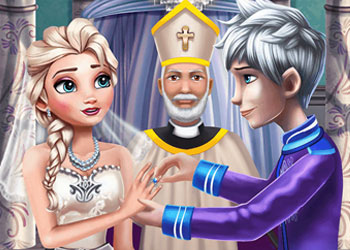 Play Frozen Wedding Ceremony online - Screenshot 1
