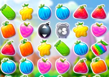 Play Fruit crush frenzy online - Screenshot 2