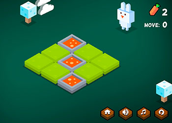 Play Funny Bunny Logic online - Screenshot 1