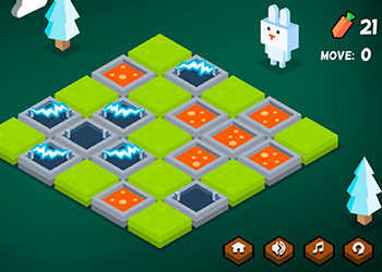 Play Funny Bunny Logic online - Screenshot 2