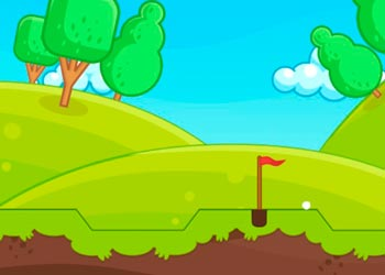 Play Funny Golf online - Screenshot 1