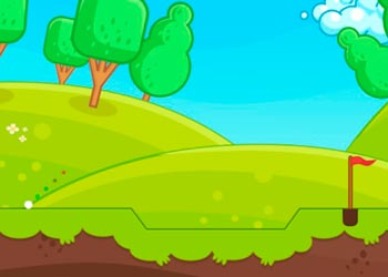 Play Funny Golf online - Screenshot 2
