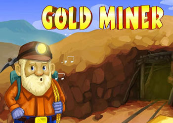 Play Gold Miner online - Screenshot 1
