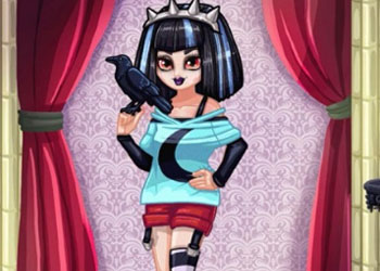 Play Gothic Princess Real Makeover online - Screenshot 2