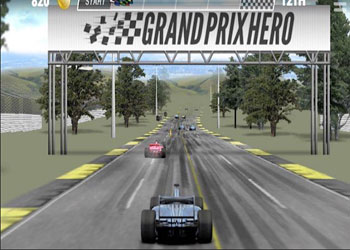 Play Grand Prix Hero online - Screenshot 1