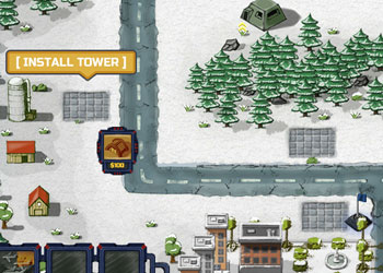 Play Grid Of Defense online - Screenshot 2