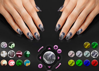 Play Halloween Nail Art online - Screenshot 1