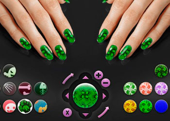 Play Halloween Nail Art online - Screenshot 2
