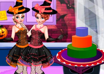 Play Halloween Party Cake online - Screenshot 1
