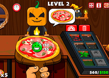 Play Halloween Pizzeria online - Screenshot 1