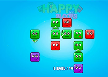 Play Happy Blocks online - Screenshot 2