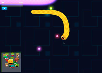 Play Happy Snakes online - Screenshot 1